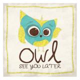 Owl See 2 Posters van Jace Grey