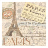 Paris Prints by Linda Grayson