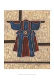 Primary Kimono I Posters by Karen Deans