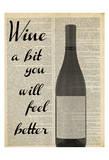 Wine A Bit Poster av Taylor Greene