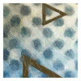 Abstract Triad I Prints by Taylor Greene