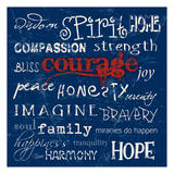 Courage Prints by Carole Stevens