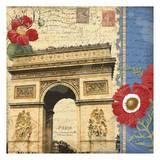 Arch De Triomphe Poster by Carole Stevens