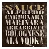 Sauce Plakat af Jace Grey