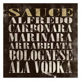 Sauce Poster von Jace Grey