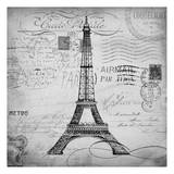 Eco Vintage Paris 1 Prints by Carole Stevens