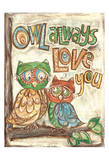 Owl Always Kunst van Erin Butson