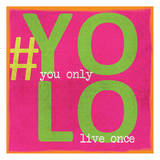 Yolo Posters by Taylor Greene