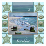 Ocean Composite 2 Prints by Donna Sinisgalli