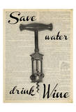 Save Water Posters av Taylor Greene