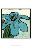 Teal Batik Botanical I Prints by Andrea Davis