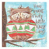 Christmas Owl 5 Posters by Erin Butson