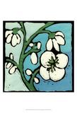 Teal Batik Botanical II Prints by Andrea Davis