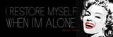 When Im Alone Posters by Jr., Enrique Rodriquez