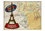 Vintage Parise Prints by Taylor Greene