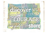 Discover Courage Reprodukcje autor Erin Butson