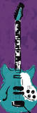 Electric Guitar Poster by Jr., Enrique Rodriquez