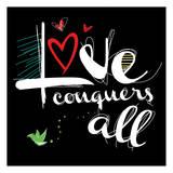 Love Conquers 2 Prints by Jr., Enrique Rodriquez