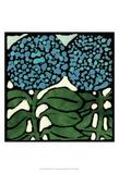 Teal Batik Botanical V Posters by Andrea Davis