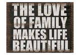Love of Family Poster by Taylor Greene