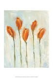 Painted Tulips III Posters by Liz Nichols