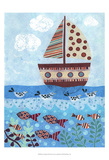 Sunny Sailing Prints by Kim Conway