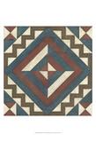 Quilt Motif I Prints by Erica J. Vess