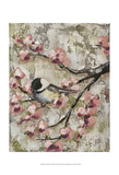 Cherry Blossom Bird II Posters by Jade Reynolds