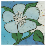 Turquoise Batik Botanical VI Giclee Print by Andrea Davis