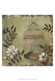 Decorative Bird Cage I Prints by Jade Reynolds