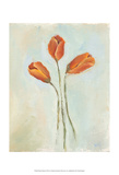 Painted Tulips II Art by Liz Nichols