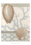 Coastal Tranquility I Poster by June Erica Vess