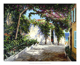 Positano Sunlight Giclee Print by Michael Swanson