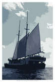 Caribbean Vessel I Posters by Carolyn Longley