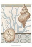 Coastal Tranquility II Kunstdrucke von Erica J. Vess