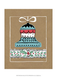 Holly Jolly Christmas II Print by Chariklia Zarris