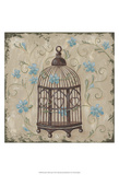 Decorative Bird Cage II Posters by Jade Reynolds