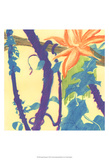 Jungle Monotype I Prints by Carolyn Roth