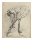Antique Ballerina Study II Giclee Print by Ethan Harper