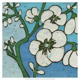Turquoise Batik Botanical V Giclee Print by Andrea Davis