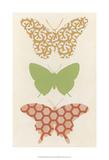 Butterfly Patterns III Prints by Erica J. Vess