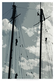 Caribbean Vessel IV Prints by Carolyn Longley