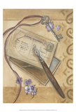 Paris Memories II Print by Marianne D. Cuozzo