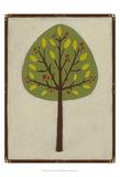 Orchard Vignette IV Kunstdruck von Erica J. Vess
