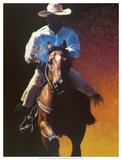 How the West Was Won Giclee Print by Julie Chapman