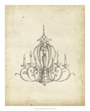 Classical Chandelier I Giclee Print by Ethan Harper
