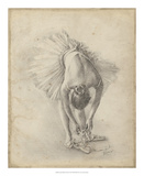 Antique Ballerina Study I Giclee Print by Ethan Harper