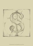 Drafting Symbols VI Prints by Ethan Harper