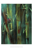 Turquoise Bamboo I Prints by Suzanne Wilkins