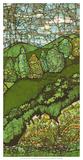 Green Landscape II Giclee Print by Andrea Davis